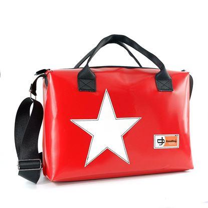 Hemingway rossa stella bianca, porta pc, 24 ore