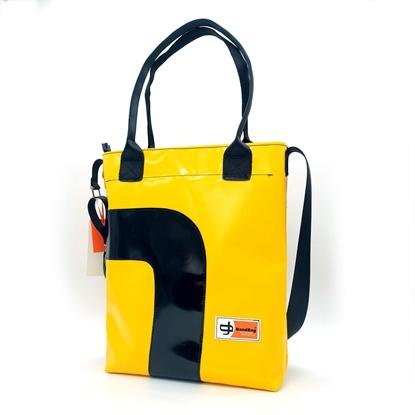 Banana gialla curva nera, Shopper HandBag