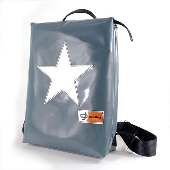 Conrad grigio stella bianca handbag