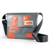Paasilinna grigio rettangoli arancio, HandBag