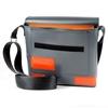 Paasilinna grigio rettangoli arancio, HandBag, interno 1