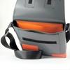 Paasilinna grigio rettangoli arancio, HandBag, interno tasca