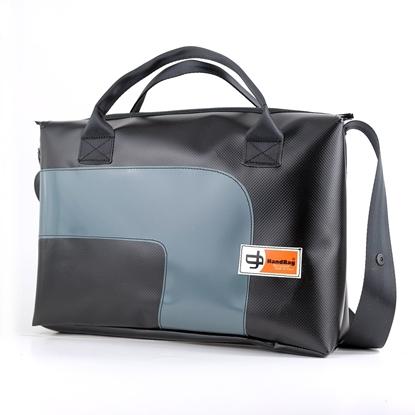 Hemingway nera curva grigia, cartella, 24 ore handbag