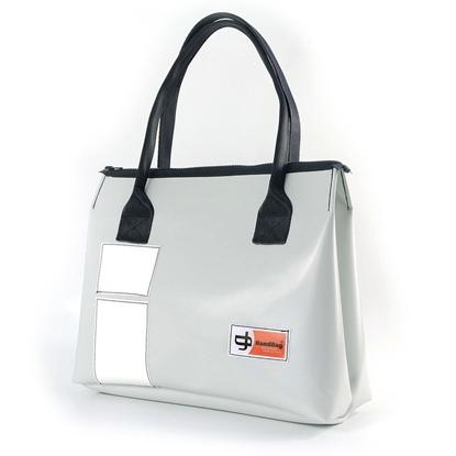 Vargas ghiaccio rettangoli bianchi, borsa da donna, HandBag