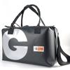 Blixen maxi nera + G argento, borsa mare Handbag,