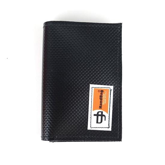 Poe Portafoglio in plastica nero handbag