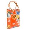 Sun's bag 35 arancio, borsa mare in plastica lavabile, handbag