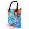 Sun's bag 35 azzurra, borsa mare in plastica lavabile, handbag