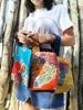 Pochette arancio, bustina mare Suns's bag bustina mare in plastica lavabile, HandBag