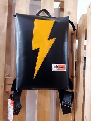 Personalizza il tuo zaino, custom HandBag, zaino personalizzato fulmine Spazio14, Un colpo di Fulmine